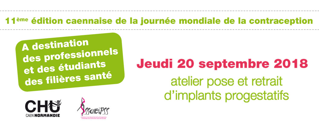 [Formation] Atelier pose et retrait d'implants progestatifs - 20.09.2018