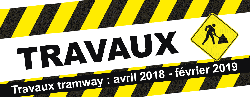 Informations travaux tramway